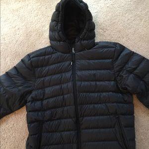 Polo Ralph Lauren puffer coat black size large
